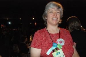 Carol at Convention