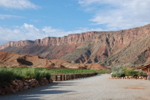 Red Cliffs Lodge mountains