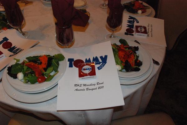 Tommy Pinball Wizard box at the banquet
