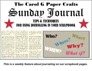 Sunday Journal