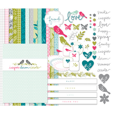 129607 Walk in the Park II Kit