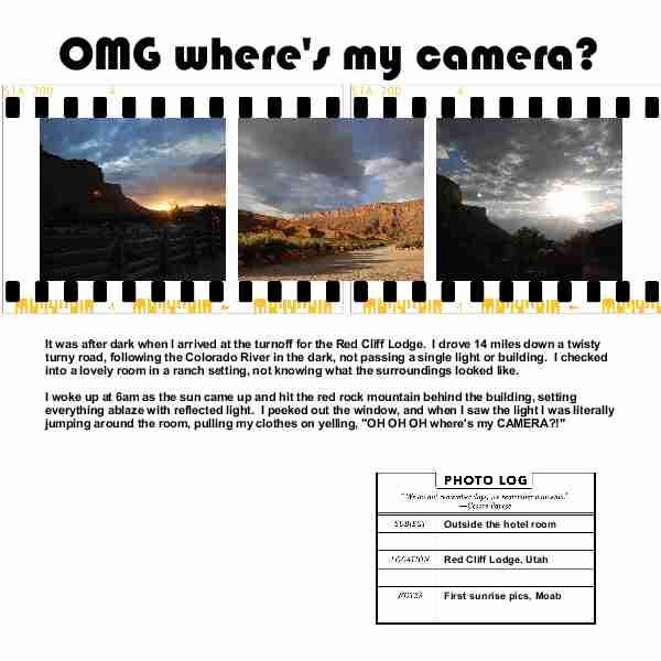 Candid Frame filmstrip