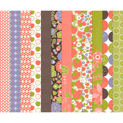 123142 Berry Blossoms Designer Series Paper