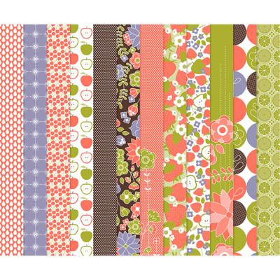 123142 Berry Blossoms Designer Series Paper