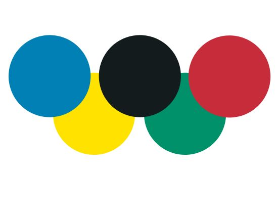 Olympic rings, Step A: basic colors