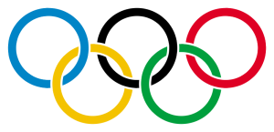 Olympic rings overlapping