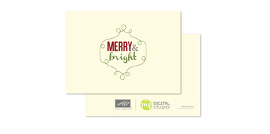 131474 Ever Bright Greeting Card Template